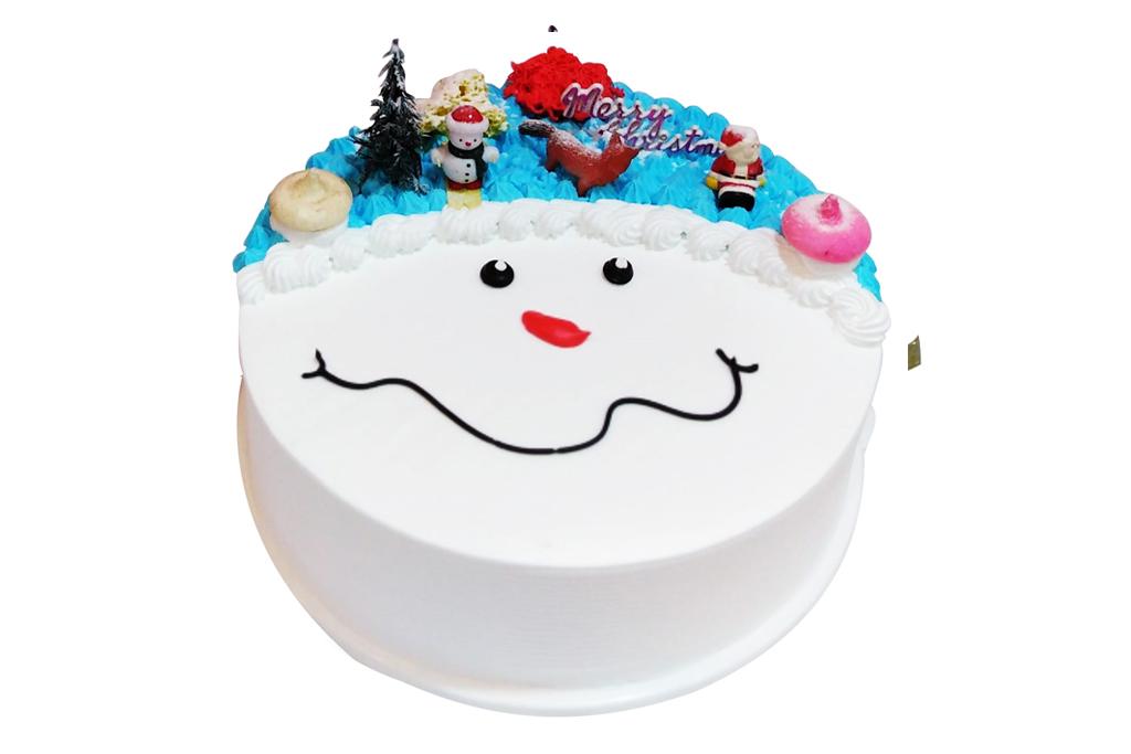X'mas Vanilla Cake