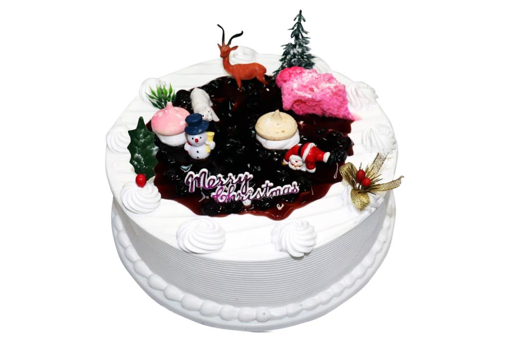 X'mas Blueberry Cake